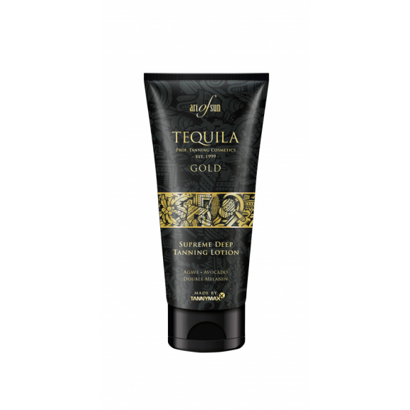 TEQUILA GOLD Supreme Deep Tanning Lotion 200ml