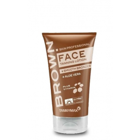 BROWN FACE Tanning Lotion + SMOOTH BRONZER 50ml