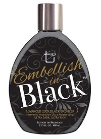 EMBELLISH IN BLACK 200X BLACK BRONZER 400ML